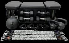 THROWDOWN 多合一家庭健身房訓練設備