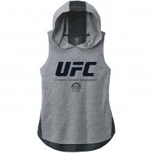 女 UFC 連帽背心 - 灰色