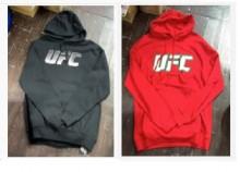 UFC長袖連帽T卹