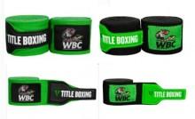 TITLE WBC Hand Wraps 世界拳擊理事會官方授權和批准。